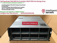 Dell EqualLogic PS6110XV 0x Controllers 24LFF 2PSU San Storage Array