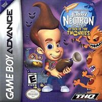 Jimmy Neutron Attack of the Twonkies - Nintendo Game Boy Advance (Cart Only)