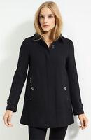 NWT BURBERRY BRIT $995 WOMENS WOOL CASHMERE COAT JACKET SZ US 10 EU 44