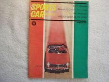 Sports Car Graphic 1963 October Lancia Flavia Project Volvo pt.3 Maserati 3500