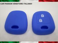 GUSCIO CHIAVE PEUGEOT SILICONE 107 207 307 206 306 406 TOYOTA AYGO COVER BLU