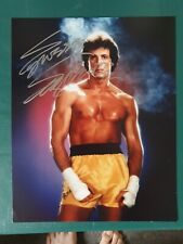Sylvester stallone genuine autograph