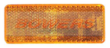 Côté ambre orange stick adhésif réflecteur rectangulaire camion remorque caravane