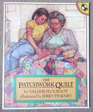 THE PATCHWORK QUILT BY VALERIE FLOURNOY PB PICTURE PUFFINS BOOK 1987