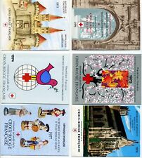 COLLECTION CROIX ROUGE FRANCAISE 12 CARNETS