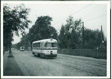Photo CCCP USSR Soviet Union TTP Tramvaju Riga tram 13 Riga Latvia 1969 original