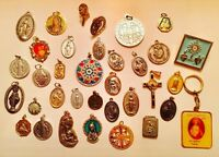 Catholic Religious Medal Lot Collection