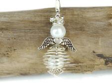 10 DIY Engel Anhänger Bastelset weiß Drahtperle Engel Anhänger Perlenengel