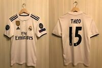 5+/5 Real Madrid #15 Theo 2018/2019 home XS Adidas shirt jersey soccer football