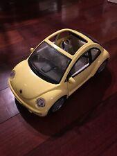 Vintage Barbie Yellow Volkswagen Beetle