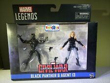 Marvel Legends Captain America Civil War, Black Panther & Agent 13 Figures Set