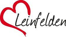 "AUTO Adesivo ""Leinfelden"" Sticker Città Germania circa 9x16cm konturgeschn."