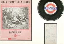 PAPER LACE (BILLY DON'T BE A HERO) SIGNED AUTOGRAPHS