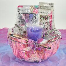 Ultimate Nail Spa Gift Basket- Women GREAT GIFT! Women, Teens, Eyeshadow, Nails