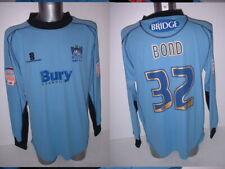 Bury Bond Goalkeeper Matchworn L Shirt Jersey Football Soccer Player Issue 11-12