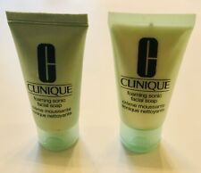 Clinique Foaming Sonic Facial Soap - Set Of 2- 1 Fl Oz Each NEW