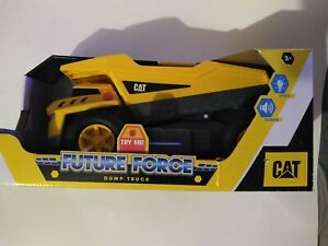 Funrise CAT FUTURE FORCE Wheel Loader NEW MIB Lights And Sounds