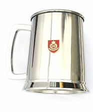 Royal Military Police Stainless Steel One Pint Beer Tankard Mug Bkg36