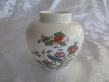 Wedgwood Kutani Crane bone china jar 9.5cm high Made in England