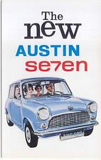 Austin Seven Mini 848 cc Original colour Postcard Ref 1794
