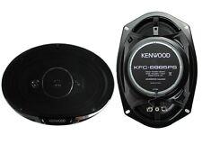 "2) New Kenwood KFC-6985PS 6x9"" 600 Watt 4-Way Car Audio Coaxial Speakers Stereo"