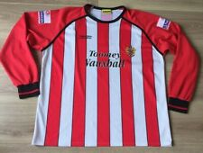 MATCH WORN FOOTBALL SHIRT NATIONWIDE CONFERENCE KIT LONG SLEEVES #4