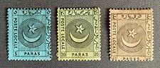Turkey Ottoman 1865 Liannos Postage Stamps SET, Isfila #YPO3/YPO5