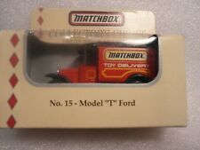 Matchbox   #15 model T Ford White Rose collectible  1994 1 OF 10,000   617