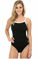 Speedo Endurance Flyback Training Suit Black Swimwear Women's Size 6 1908