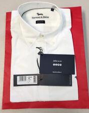 9c1c043fe Harmont & Blaine Shirt C0348BD-08799-100 White Long Sleeve Shirt L Large