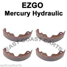 EZGO CUSHMAN Mercury Hydraulic Rear Brake Shoe (set of 4) 4395, 4209