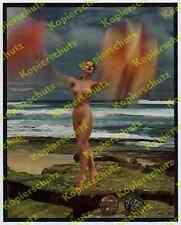 Gordon DeLisle Agfacolor Frau Grazie Nackttanz Strand Akt nude dance Erotik 1956
