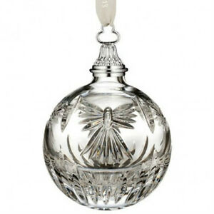 Waterford Crystal Times Square 2013 Peace Ball Christmas Ornament New #156475