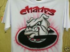 Airbrushed Bulldogs Champs t-shirt
