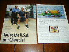 Sail From Cuba To Usa In A 1951 Chevrolet Truck *Original 2006 Article*