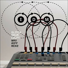 EDM IDM Glitch Electro Drum Loops WAV AIFF REX2 Cubase Logic Reason FL Studio