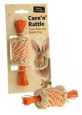 Rabbit toy guinea pig natural corn cage Sharples 'n' Grant small'n'furry