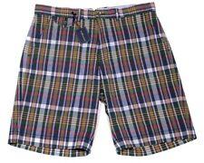 Men's POLO RALPH LAUREN Colors Madras Plaid Shorts 36 NWT NEW HOT!!!