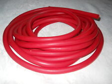 "2 feet Red Rubber Latex tubing 1/2""Od x 1/4""Id x 1/8"" wall."
