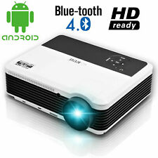 EUG LED Projector 1080p Multimedia Game PS4 Enjoy Movie USB Netflix HDMI US