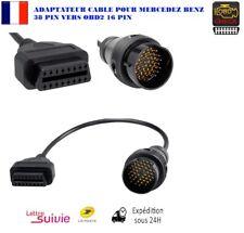 Adaptateur Câble pour Mercedes Benz OBD2 vers 38 broches