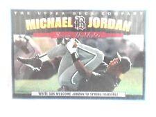 BASKETBALL PLAYER MICHAEL JORDAN  AT WHITE SOX TRAINING CAMP -  UPPER DECK CARDS