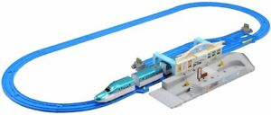 Plarail Joining! Series E5 'Hayabusa' & Tomica Station Rotary Set NEW