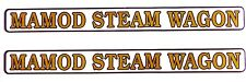 MAMOD STEAM WAGON DECALS (TWO FULL LENGTH SELF  ADHESIVE STICKERS)