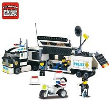 NEW ENLIGHTEN Police City Riot Explosion-Proof Track Blocks Minifigures Toys