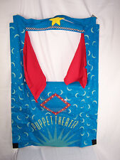 """Puppet Theater Hangable Curtain Hearth Song slightly used condition 46"""" Tall"""