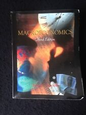 Macroeconomics by Colander Paperback Third Edition Text Book