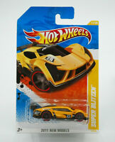 Hot Wheels 2011 New Models SUPER BLITZEN Yellow New Free Shipping