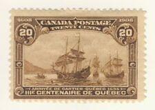 Canada Stamp Scott # 103 20-Cents Quebec Tercentenary M