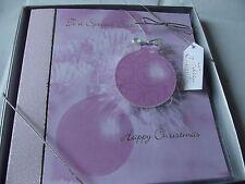 """En Caja de tarjeta de Navidad saludos extra especial """"hermana"""". Gratis P&P especial."""